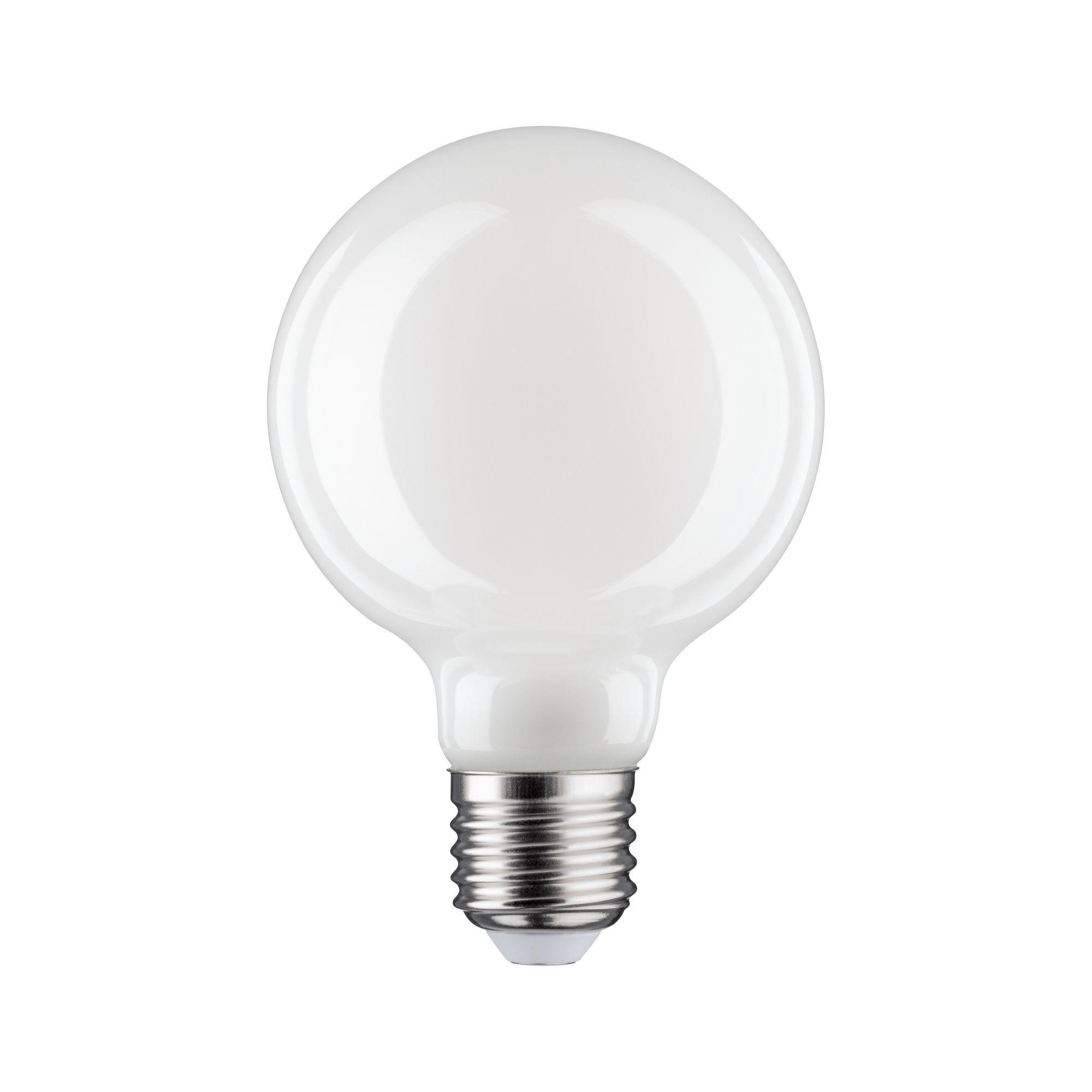 Paulmann LED Fil G80 470lm E27 2700K opal dim 6W 230V (28623)