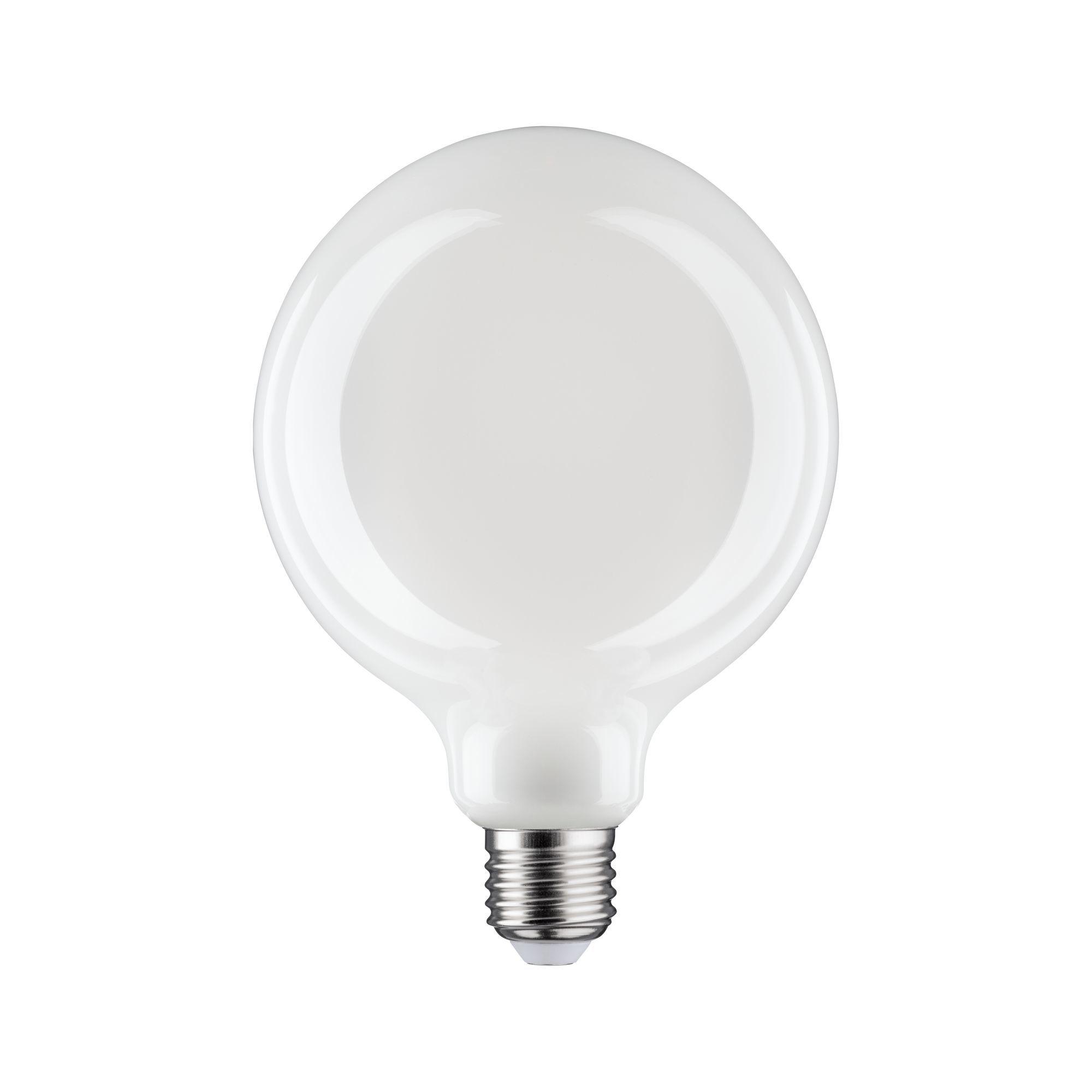 Paulmann LED Fil G125 470lm E27 2700K opal dim 6W 230V (28626)