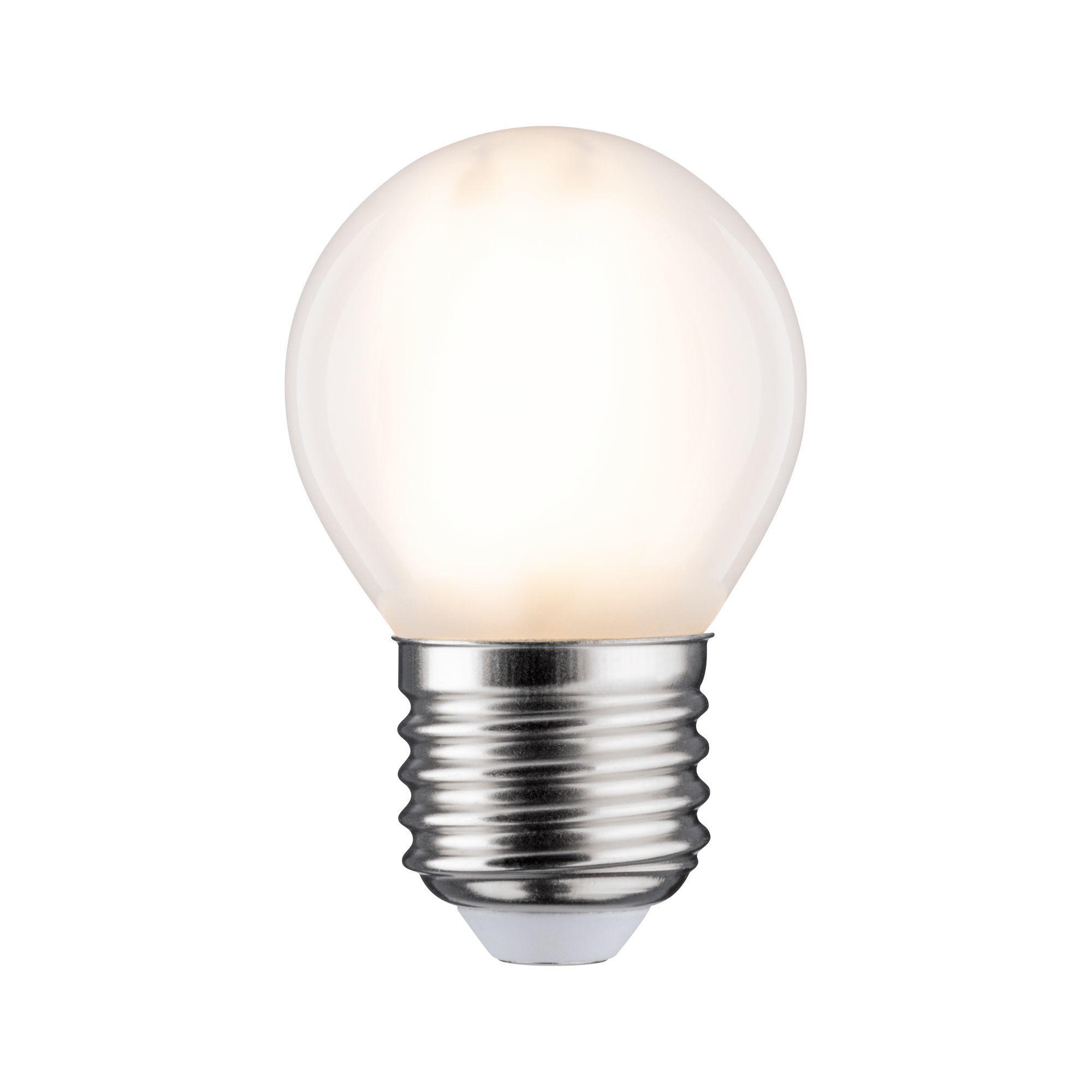 Paulmann LED Fil Tropfen 470lm E27 2700K matt dim 5W 230V (28635)