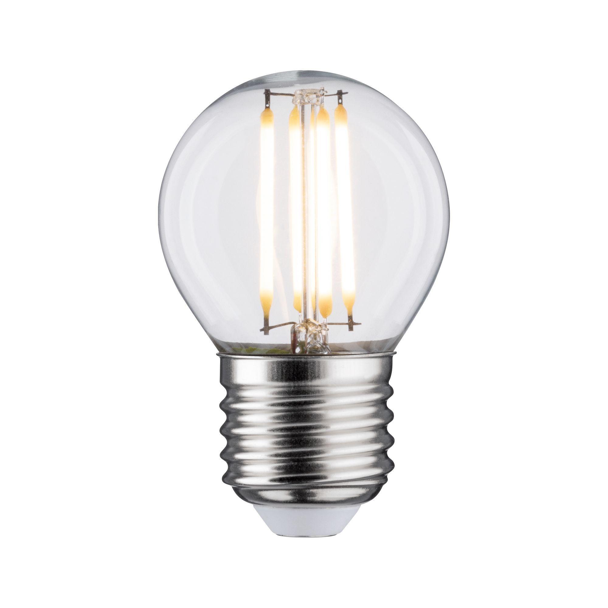 Paulmann LED Fil Tropfen 470lm E27 2700K klar 5W 230V (28633)