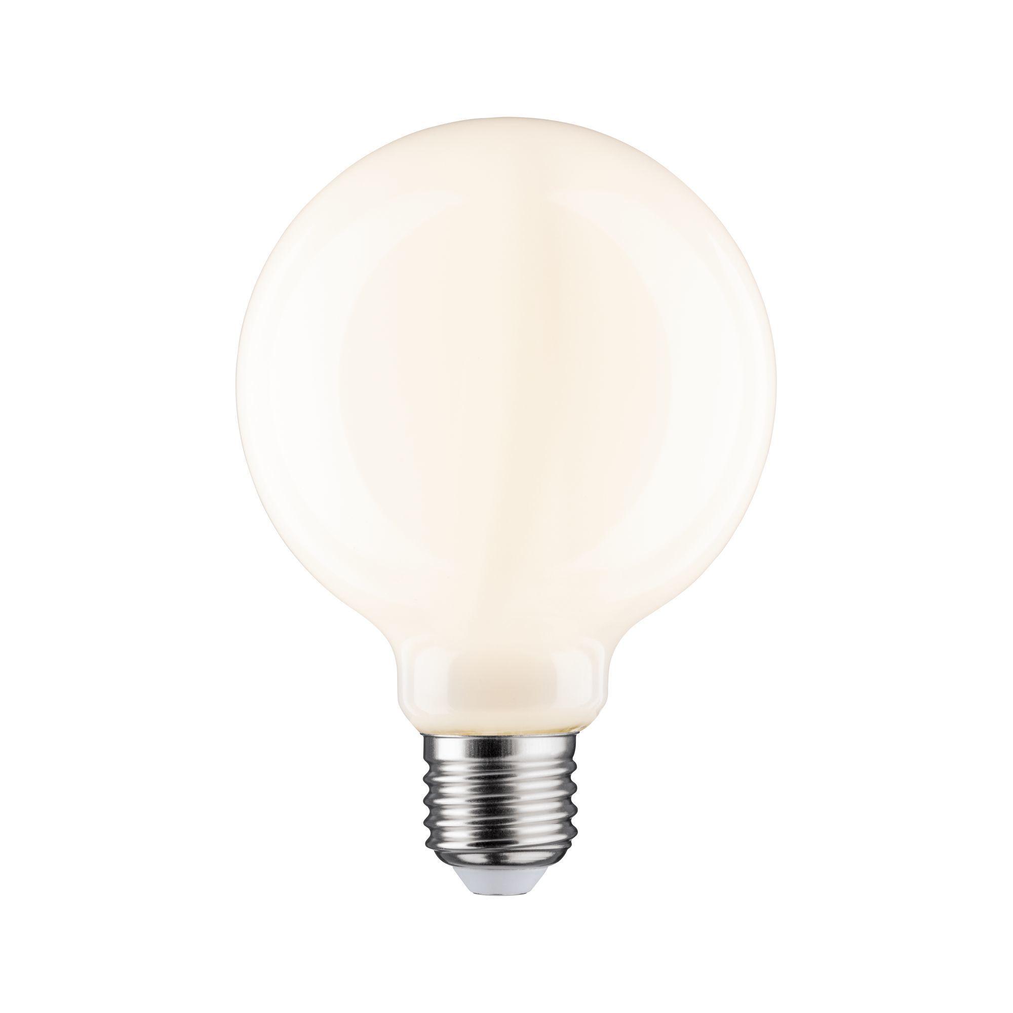 Paulmann LED Fil G95 1055lm E27 2700K opal dim 9W 230V (28625)