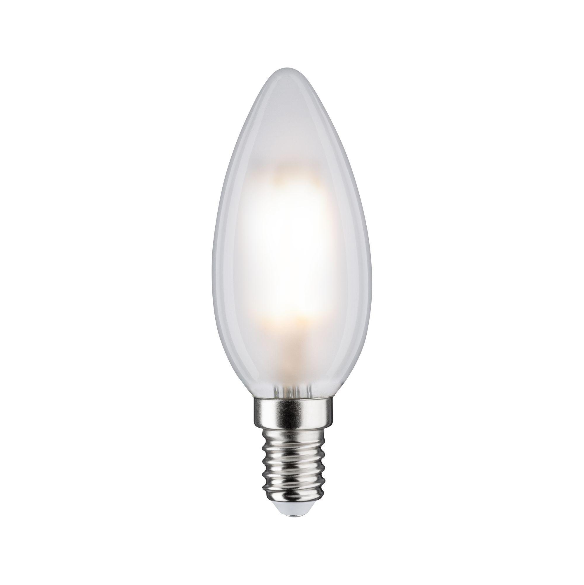 Paulmann LED Fil 2er Kerze 470lm E14 2700K matt 5W 230V (28637)