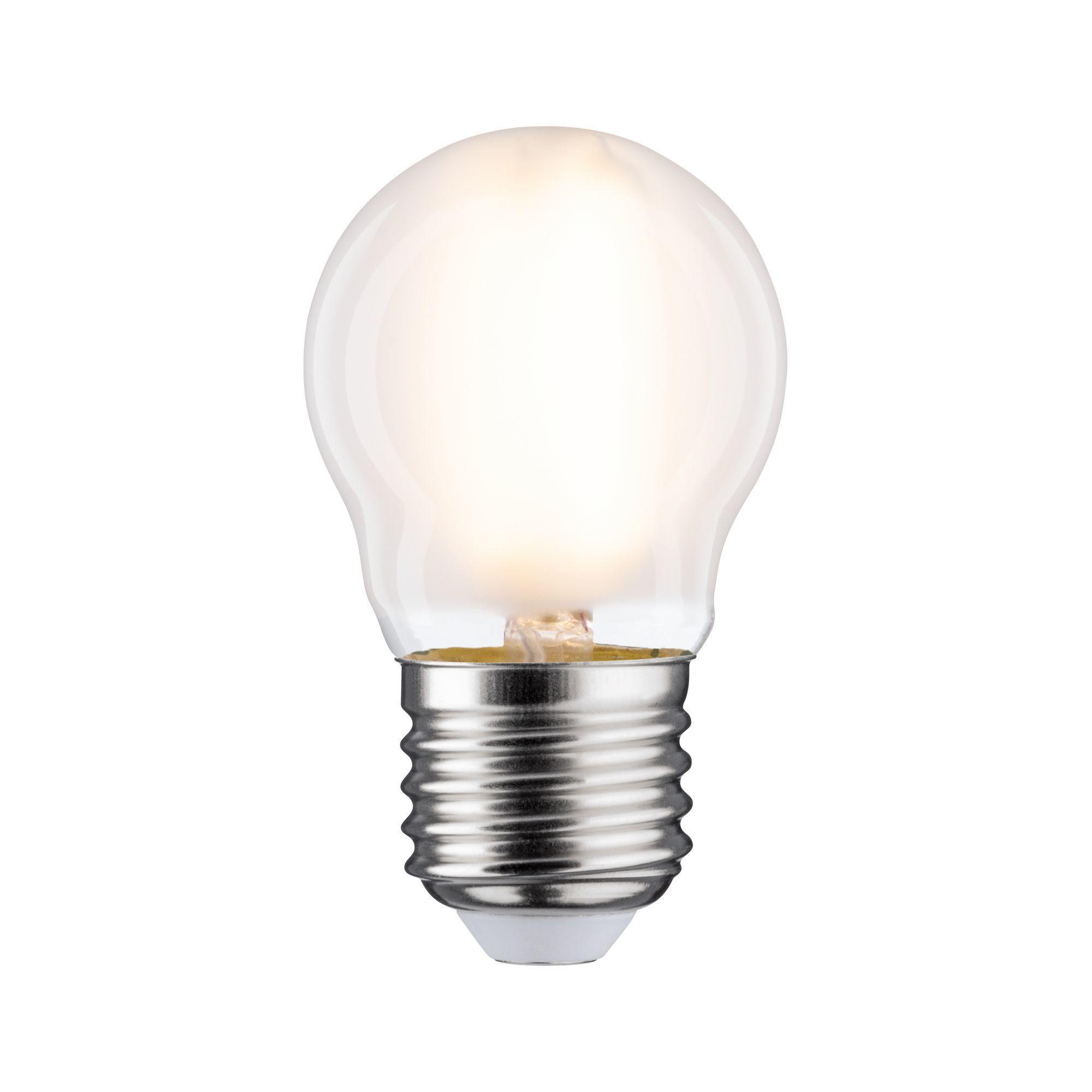 Paulmann LED Fil Tropfen 800lm E27 2700K 6,5W matt dim 230V (28657)