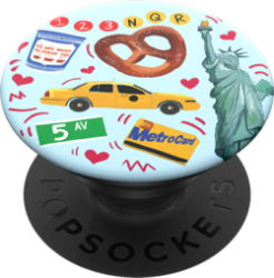 PopSockets Swappable Grip New York