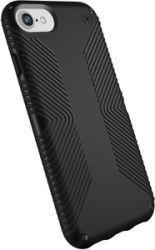 SPECK Presidio Grip Cover für iPhone 6/6s7/8, Schwarz/Schwarz