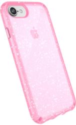 SPECK Presidio Clear Cover für iPhone 7/8, Rose/Gold Glitter