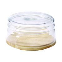 Continenta Käseglocke flach 20,5cm Gummi+Gla (3295)