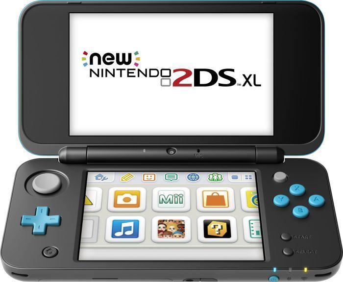 Nintendo New 2DS XL 4.88Zoll Touchscreen WLAN Schwarz - Türkis Tragbare Spielkonsole