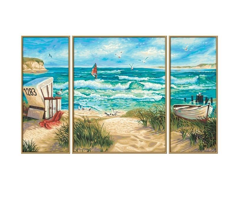 Malen Nach Zahlen Mnz Sommerfrische Triptychon