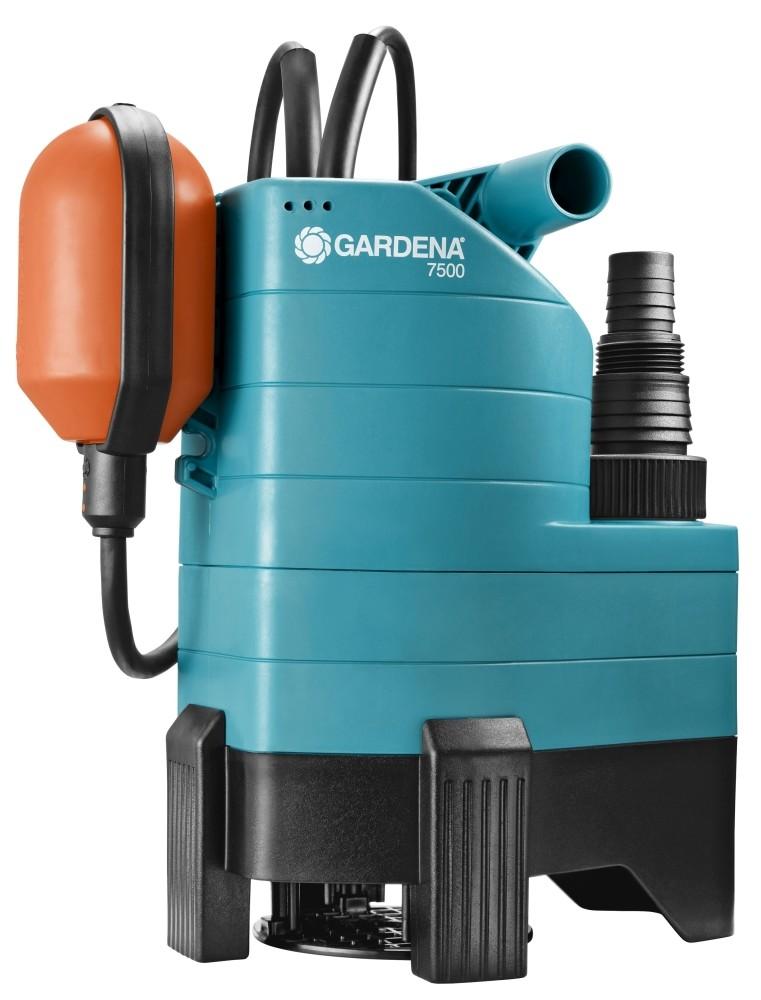 GARDENA 01795-61 Schmutzwasser-Tauchpumpe 7500 340 W t/ürkis Orange schwarz