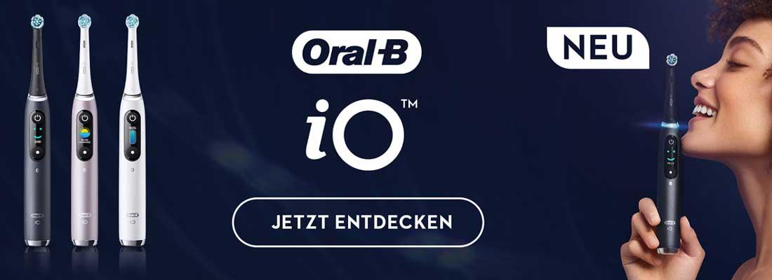 Die neue Oral-B iO Zahnbürste hier erleben