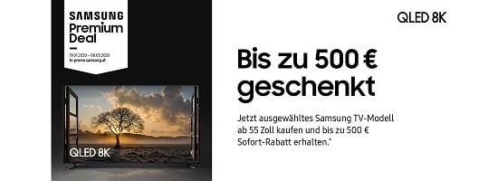 Samsung Premium Deal bis zu 500,-- beim Kauf zurück