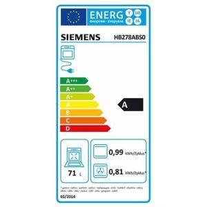 Siemens Einbaubackofen HB278ABS0