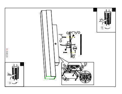 EGLO LED-Wandleuchte  L-600 NICKEL-MATT 'TORRETTA' (94617)