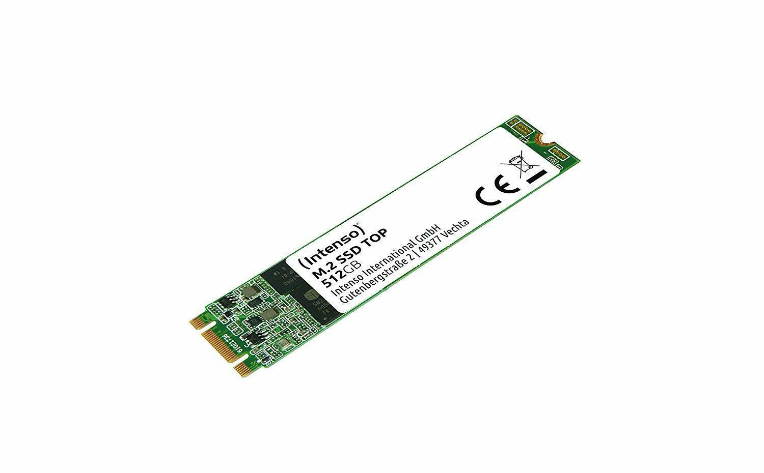 Intenso   M.2  512GB SSD SATA3  Top Performance retail (3832450)